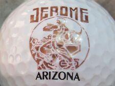 (1) Jerome Arizona Logo Golf Ball