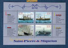 Saint-Pierre-&-Miquelon - Bloc 7  Les bateaux 1999 Neuf Luxe