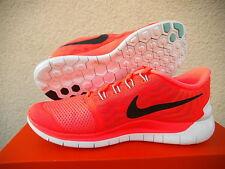 WMNS Nike Free  5,0 Lauf- Freitzeitschuhe  Gr 37,5 Orange 724383 800    NEU