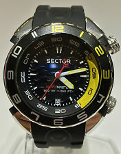 OROLOGIO SECTOR SHARK  MASTER 3HR 44MM BLACK DIAL R3251178125