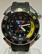 OROLOGIO SECTOR SHARK  MASTER 3HR 44MM BLACK DIAL R3251178125