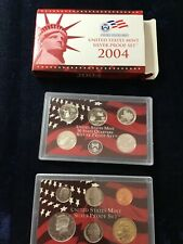 2004 Proof Silver Set in Package w/COA