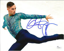 ADAM RIPPON SIGNED 8X10 PHOTO 4 JSA 2018 OLYMPICS FIGURE SKATING PYEONGCHANG USA