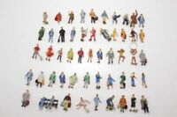 Konvolut 50 x Preiser H0 Figuren bunte Mischung zur Anlagenbestückung