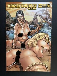 Jungle Fantasy Annual 2019 Rare Luscious Adult Variant Boundless Comics NM