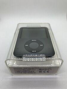 Apple Ipod Nano 3rd 3. Generation Black 8GB Black New Sealed