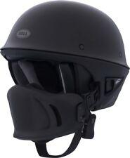 NEW BELL ROGUE MATTE BLACK MOTORCYCLE CRUISER HELMET SIZE LARGE 7000801