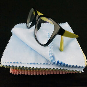 Sun Glasses Eyeglass Cleaner Microfiber Cloth Lens Wipes Cleaning Camera LCD
