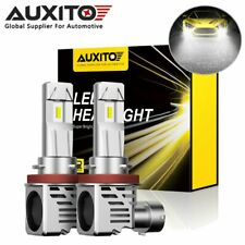 2x AUXITO H8 H11 CREE LED Headlight Bulb Hi/Lo Beam Kit for Ford Honda Chevy