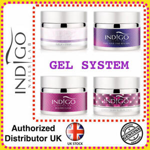 INDIGO BUILDER PERFECT EASY SHAPE TAKE YOUR TIME LIGHT ROSE ROSY MILKY PINK GEL