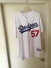 Scott Elbert Dodgers Game Used Worn Jersey #57 Size 50
