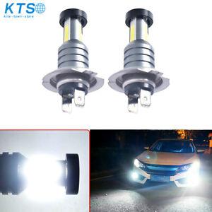 2x 110W 30000LM H7 LED Car Headlight Conversion Canbus Bulbs Beam 6000K White