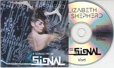 ELIZABETH SHEPHERD 4 Songs From The Signal 2015 UK promo only sampler CD