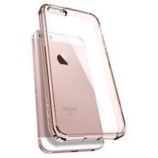 iPhone SE Case Spigen Ultra Hybrid Air Cushion Rose Crystal Clear Back