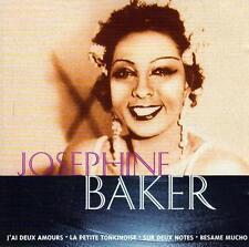 CD audio.../...JOSEPHINE BAKER.../...J' AI DEUX AMOURS.....