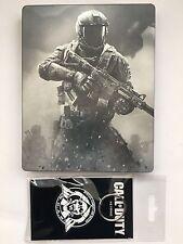 Call of Duty: libro de acero limitada de guerra infinita reemplazo DVD/bd/Caja De Cd