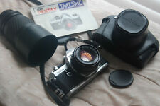 Pentax MX camera body with 50mm and more