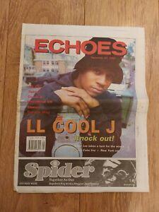 ECHOES MAGAZINE 22 SEPTEMBER 1990 LL COOL J 10 CITY DEREK B SKETCH DERRICK MAY