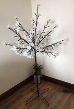 Blossom Tree Floor Lamp, White Flowers Petals Home Decoration Wedding LED lights