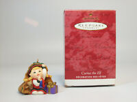 Vintage Hallmark Keepsake Club Ornament 2001 Curius the Elf - #PR2318-DB