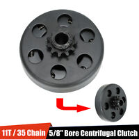 """5/8"""" Bore Go Kart Centrifugal Clutch 11 Tooth For #35 Chain 2.8HP 97CC Engines"""