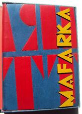 F T Marinetti - MAFARKA - Madrid 1921 Ilustrado Encuadernacion artistica
