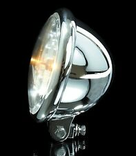 Klarglas Scheinwerfer H4 chrom Kawasaki EN 500 A B C headlight chromed
