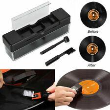 More details for 2 in 1 vinyl record cleaning brush set stylus velvet anti-static cleaner kit uk
