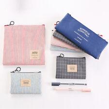 AC_ Pencil Bag Travel Cosmetic Makeup Bag Toiletry Case Wash Storage Organizer W