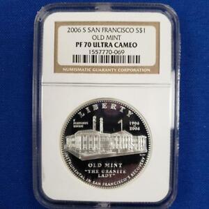 2006 S US San Francisco Silver $1 OLD MINT NGC PF 70 L9997