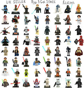 Star Wars Minifigure Lego & Custom Rogue One Freemakers Clone Wars Mini Figure