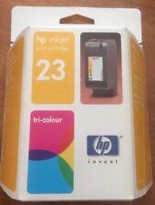 Genuine Sealed HP Hewlett Packard Inkjet Cartridge 23 Tri-Colour