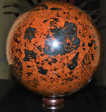 "Stunning Giant 6"" A+ Mahogany Obsidian Crystal Healing Reiki Aura Stone Sphere"