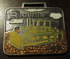 Vintage Fiat-Allis 41-B Largest Crawler Tractor in the World Dozer Watch Fob