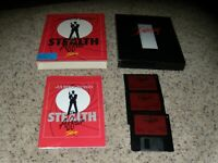007 James Bond Stealth Affair Commodore Amiga with box and instructions