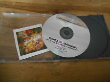 CD Indie Barbara Manning SF Seals-Nowhere (10) canzone PROMO normale disc only