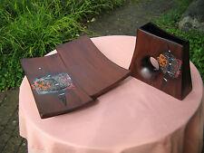 SET spanische Tischvase Designvase und passende Schale Dekorschale aus Keramik