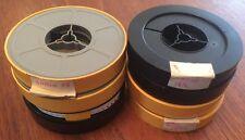 8 x Vintage 50ft 8mm Amateur Movie Film Reels, Content inc. Lakes 1976 Spain 73