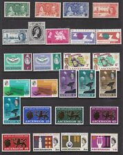 Ascension 1937 to 1972 Collection Unmounted Mint and Mounted Mint Issues