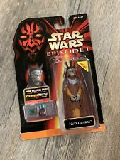 Star Wars Action Figure Nute Gunray Trade Federation Episode 1 CommTech 1998