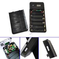 3.3A 5V-21V Mobile power bank Six 18650 Battery Charger For 19V Laptop iphone 5V