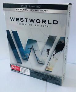 Westworld Season 2 Limited Edition 4K Ultra HD + Blu Ray 6-Discs Box Set HBO