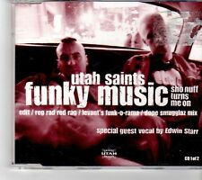 (FM67) Utah Saints, Funky Music - 2000 CD