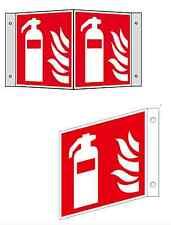 Feuerlöscher Fahnenschild Winkelschild Nasenschild nachleuchtend ASR 1.3 ISO7010