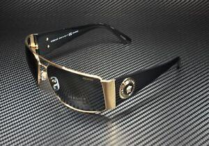 VERSACE VE2163 100281 Gold Polarized Grey 63 mm Men's Sunglasses