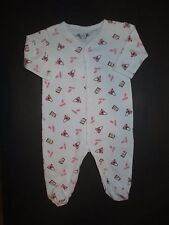 INFANT GIRLS MARGERY ELLEN PINK PURSE & LIPSTICK FOOTIE OUTFIT SIZE 6 MONTHS