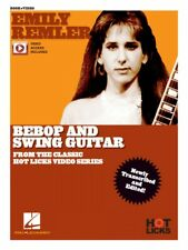 Emily Remler Bebop and Swing Guitar Instructional Book with Online Vid 000322774