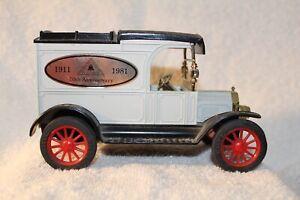 Ertl Replica Ford 1913 Model T Van Bank American Telephone & Telegraph AT&T