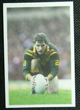 1 x card BBC Question of Sport 1986 Michael O'Connor Rugby