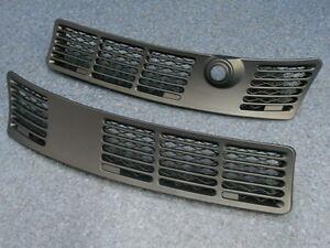 BMW E30 Satz Ziergitter Blende Cabrio Coupe Limousine Touring schwarz